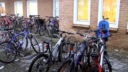 STOR ØKNING: I 2009 var det en økning i sykketyverier på 16 prosent. Men det er store mørketall siden mange ikke registrerer sykkelen hos Falck. (Foto: Jørn Berger-Nyvoll  / TV 2)