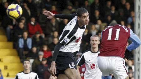 Gabriel Agbonlahor scoret to mål mot Fulham forrige serierunde (Foto: IAN KINGTON/AFP)