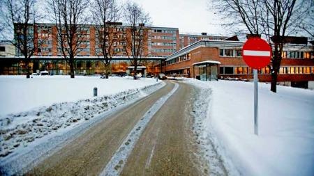Eksteriørbilde av Sykehuset Asker og Bærum (Foto: Scanpix)