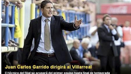 Juan Carlos Garrido (Foto: villarrealcf.es/)