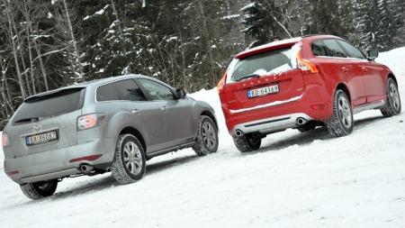 SUV-duell-bakfra (Foto: Sigmund Bade)