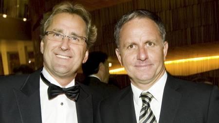 Erik Hamrén   (tv) og Jan Jönsson (Foto: Junge, Heiko/SCANPIX)