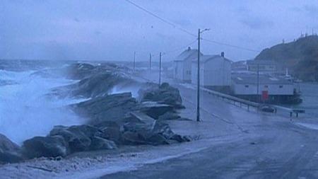 STENGT: Flere veier og fergesamband er stengt som følge av uværet. (Foto: TV 2)