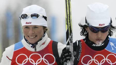 TROR PÅ BJØRGEN: Hilde Gjermundshaug  Pedersen tror Bjørgen kan ta fire gull - om alt klaffer. (Foto: Poppe, Cornelius/SCANPIX)
