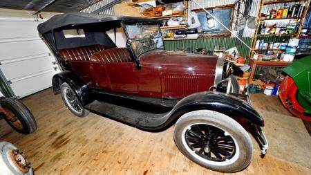 ORIGINAL: T-Forden har vært i familiens eie siden bestefaren til Hans Fornes kjøpte den ny i 1926. (Foto: Bjørn Tore Ness, NA)