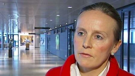 Leder Kari Aamot i seksjon for førerkort og kjøretøystjenester i Vegdirektoratet. (Foto: TV 2)