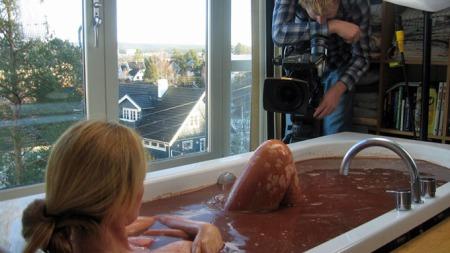 Dorthe-filmes-i-sjokoladeba