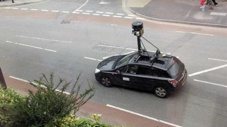 Så   du denne bilen kjøre gjennom ditt nabolag? Da er sjansen stor for at   du har havnet på Google Maps «street view»-sider på internett. (Foto:   Creative Commons (Foto Byrion@Flickr))