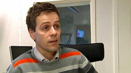 FOR SAMARBEID: Knut Arild Hareide reagerer på at fartssyndere slipper unna. (Foto: TV 2)