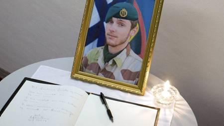 FARLIG OPPDRAG: Claes Joachim Olsson ble drept under tjeneste i Afghanistan.  (Foto: FORSVARET/Scanpix)