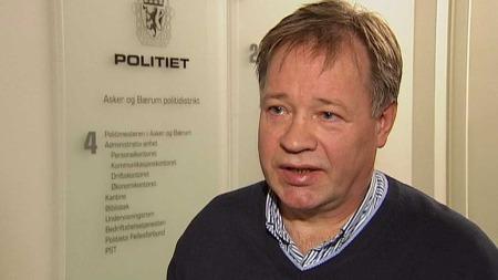 LEDER ETTERFORSKNINGEN: Politioverbetjent Olav Brubakk i Asker og Bærum politidistrikt leder etterforskningen i forsvinningssaken. (Foto: TV 2)