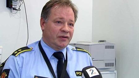 Politioverbetjent   Olav Brubakk i Asker og Bærum politidistrikt. (Foto: TV 2)