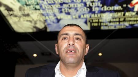 PÅGREPET I FRANKRIKE: Den tidligere OL-vinneren Khalid Skah. (Foto: AFP)