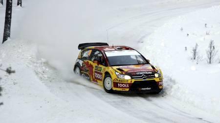 UTE: Petter Solberg er ute av Rally Sverige. (Foto: SCANPIX SWEDEN/REUTERS)