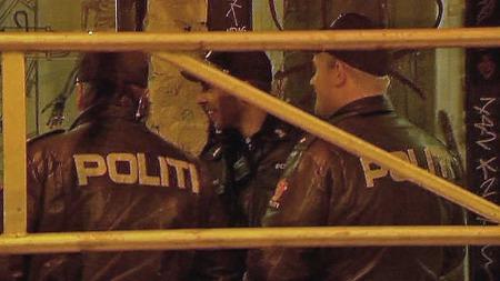AKSJONERTE: Politiet i Oslo kastet ut 15 husokkupanter i en aksjon i Oslo torsdag morgen. (Foto: Sveinung Kyte)