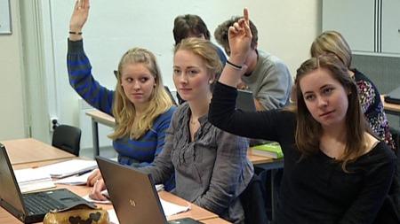 TRENGER FLERE REALFAGSTUDENTER: Kun 15 prosent av elevene i videregående ønsker seg inn på Realfag.
