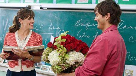 Julia Fitzpatrick (Jennifer Garner) og Reed Bennett (Ashton Kutcher) i «Valentines day»
