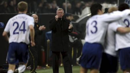 Alex Ferguson (Foto: PAUL ELLIS/AFP)