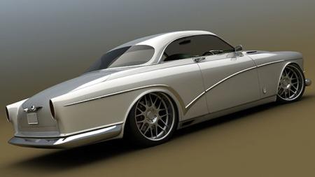 Volvo Amazon Coupe. Design: Bo Zolland