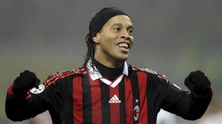 Ronaldinho (Foto: DAMIEN MEYER/AFP)