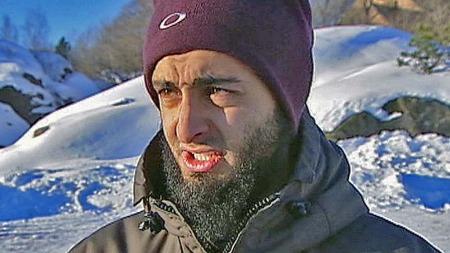 ANMELDES: Mohyeldeen Mohammad politianmeldes av Landsforeningen for lesbiske og homofile (LLH) for hatefulle ytringer mot homofile. (Foto: TV 2)