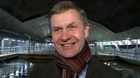 Miljø- og utviklingsminister Erik Solheim var med på åpningen mandag.