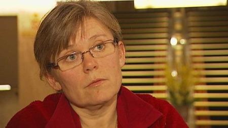 Ada Sofie Austegard er kritisk til forskjellbehandlingen av barn og voksne. (Foto: Olav T. Hustad Wold)