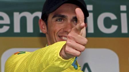 Alberto Contador (Foto: STR/REUTERS)