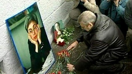 DREPT: Journalisten Anna Politkovskaja.
