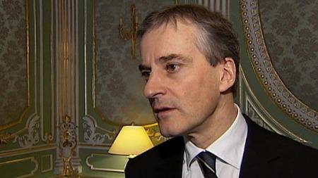 ROSER ALEKSEJEVA: Utenriksminister Jonas Gahr Støre.