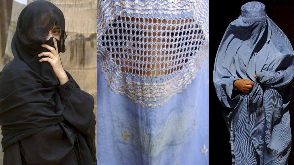 FORBUD: Belgia og Frankrike er på vei til å bli de første europeiske landene som innfører forbud mot plagg som dekker ansiktet.  (Foto: -/AFP)