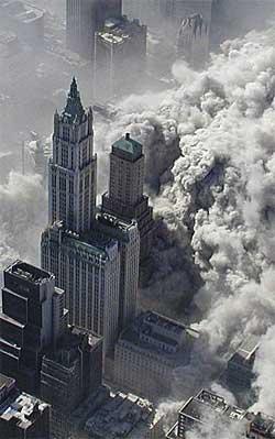 Til sammen 2993 mennesker omkom i terrorangrepene 11. september 2001. (Foto: Greg Semendinger)
