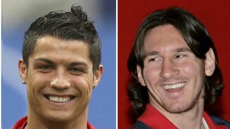 Ronaldo og Messi - best i verden? (Foto: AP Photo/Scanpix/AP)