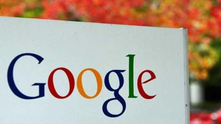 Google skilt (Foto: AP)