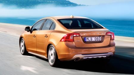 Dette er splitter nye S60 - en bil Volvo venter seg mye av i   årene som kommer.