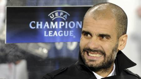 Josep Guardiola (Foto: JOHN MACDOUGALL/AFP)