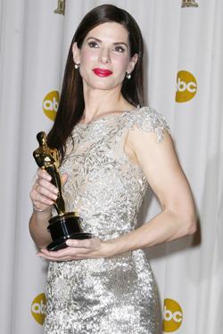 BEST: Sandra Bullock fikk Oscar for beste kvinnelige hovedrollei filmen  «The Blind Side».