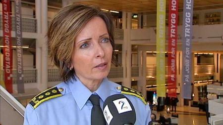 Hanne Kristin Rohde - leder for vold- og sedelighetsseksjonen ved Oslo politidistrikt (Foto: TV 2)