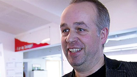 ERGRER SEG: Sjefredaktør i Rogalands Avis, Bjørn G. Sæbø (Foto: TV 2)