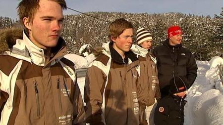 SLAPP UTEN EN SKRAMME: Familien Enerhaug. (Foto: Sverre Saabye)