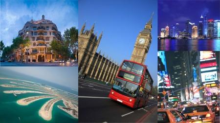 Billig storbyferie london