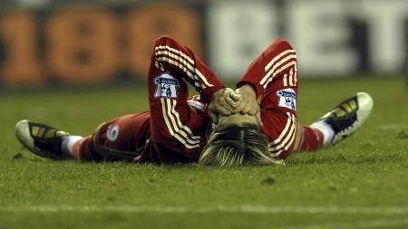 Fernando   Torres (Foto: PAUL ELLIS/AFP)