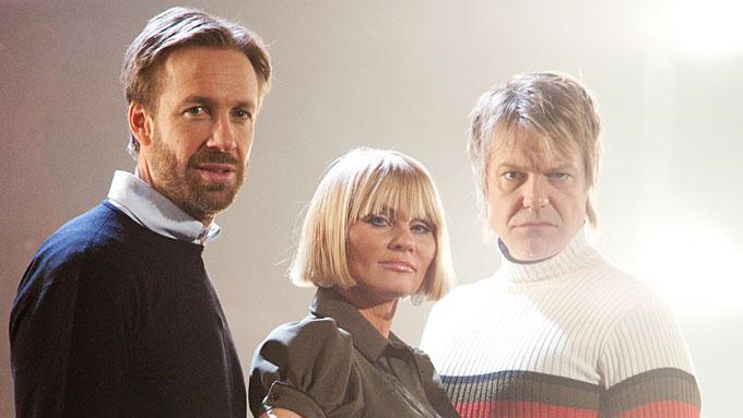 Thomas Giertsen, Mia Gundersen, Alex Rosén, Norske Talenter (Foto: Roy Darvik / TV 2)