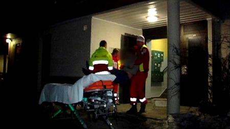 KNIVDRAMA: En mann ble stukket ned med en kniv i en leilighet på Torshov i Oslo. (Foto: Benjamin Bakken/Krimfoto)