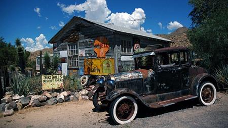 Route 66 er et levende museum.  (Foto: www.route66usa.info)