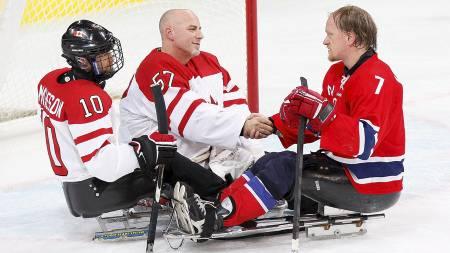 Paul Rosen og Eskil Hagen (Foto: Kevin C. Cox/AFP)