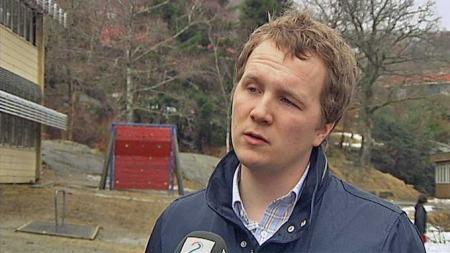Filip Rygg - Skolebyråd, Bergen, KrF (Foto: Nina Kausland/TV 2)