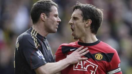 Gary Neville kan få sin 600. kamp for Manchester United mot   Sunderland. (Foto: Jon Super/AP)
