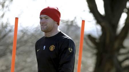 TRENER ALTERNATIVT: Wayne Rooney. (Foto: ANDREW YATES/AFP)