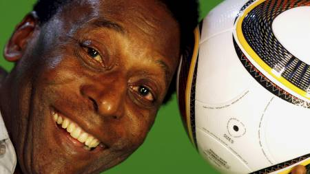 Pele (Foto: PAULO WHITAKER/REUTERS)